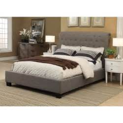 Costco Platform Bed Costco Rafferty Upholstered Bed Bedroom Grey And