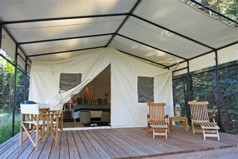 wall tent platform design couple makes top offer on historic three story tent in