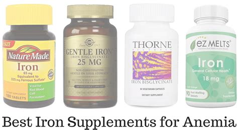 Which Iron Supplement Is Best - top 5 best iron supplements for anemia