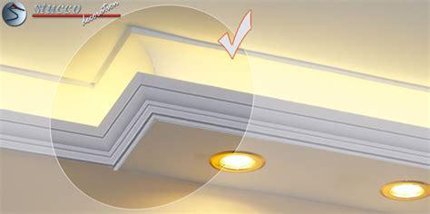 led deckenspots direkte und indirekte beleuchtung mit stuck stuckhersteller
