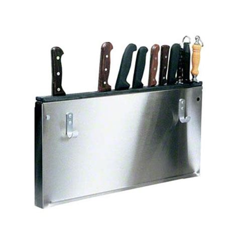 kitchen knives holder victorinox 42999 wall mount stainless steel knife holder etundra