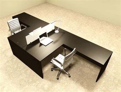 2 person l shaped desk two person l shaped divider office workstation desk set