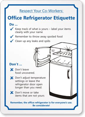 Sle Memo Keeping Office Kitchen Clean Work Etiquette Quotes Quotesgram