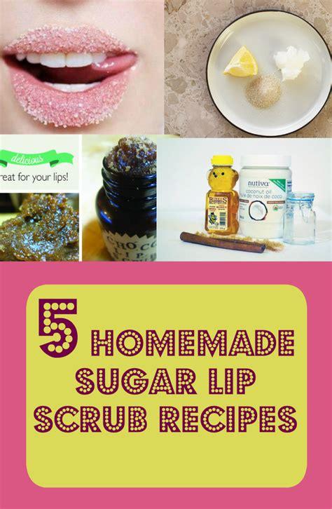 Promo Sugar Lip Scrub 5 sugar lip scrub recipes discountqueens