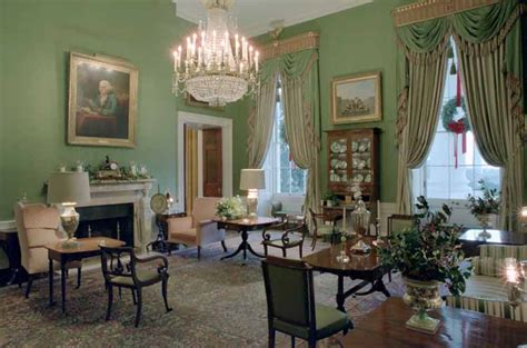 Rooms In White House by File White House Floor1 Green Room Jpg Wikimedia Commons