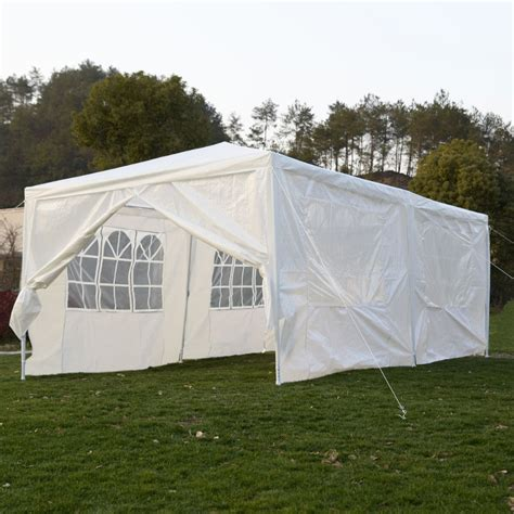 Outdoor Tents For Patios by Wedding Tent 10x20 Canopy Outdoor Gazebo Event Patio
