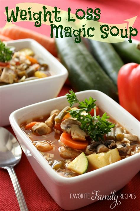 Weight Loss Magic Soup   Recipes for Diabetes Weight Loss