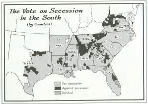 us civil war secession map electiondissection civil war secession maps