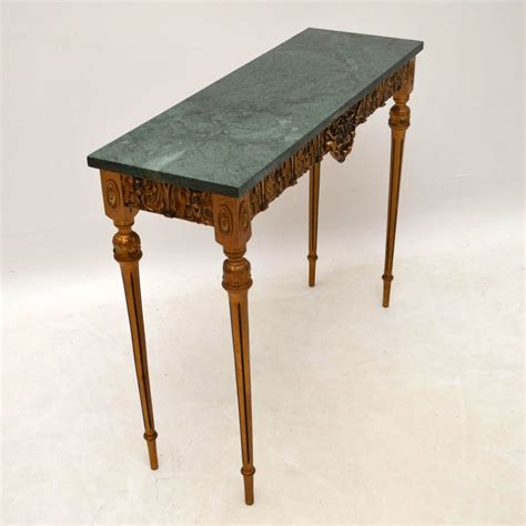antique marble top table antique marble top gilt wood side table