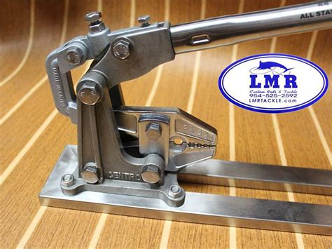 bench crimper bench crimping tool stainless steel centro ct 180