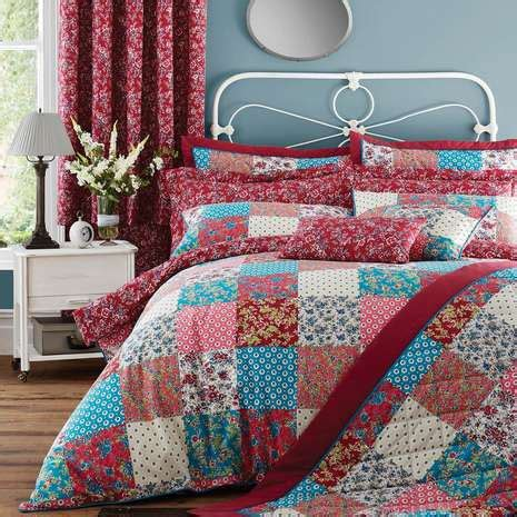 Bedspreads Patchwork - patchwork bedspread dunelm