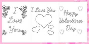 Valentines Day Card Template Ks1 by S Day Card Colouring Templates Valentines Day