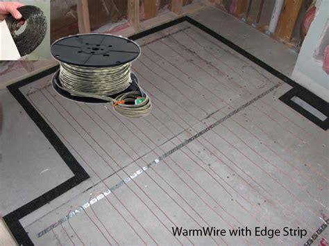 Suntouch Floor Heat by Suntouch Radiant Warmwire Kits 40 Sq