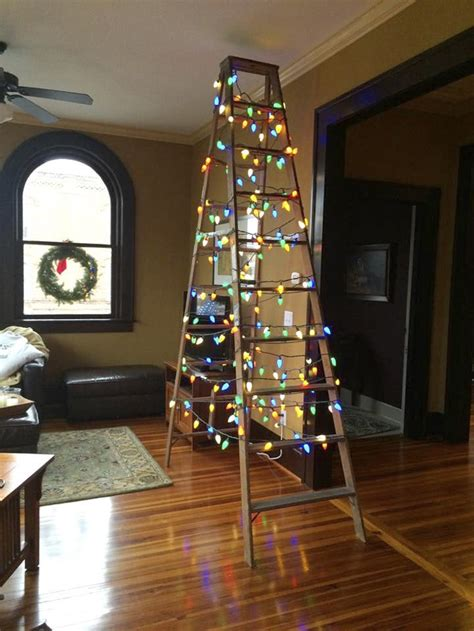how to make a ladder christmas tree scarvey column conquering tree conflicts salisbury post
