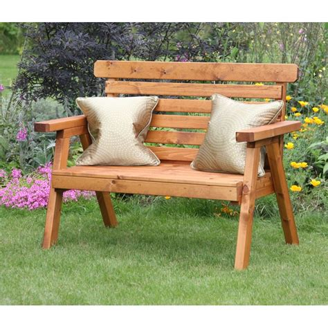 small wooden garden bench rustic wooden benches outdoor photo pixelmari com