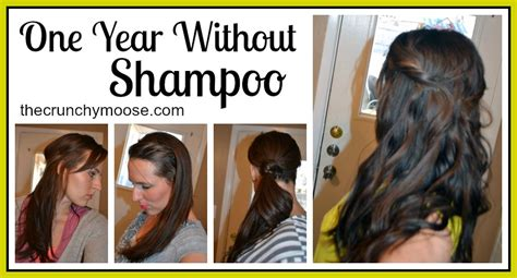 no poo before and after one year without shoo the no poo method the crunchy