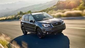 Subaru Forester Packages 2018 Subaru Forester Gets A Black Edition Package The