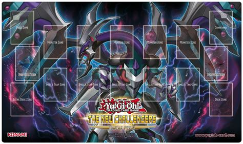 Yugioh Duel Mat by Yu Gi Oh The New Challengers Sneak Peek November 1st