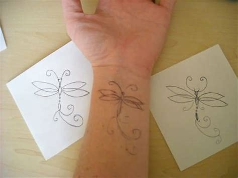 tattoo pattern maker simple dragonfly tattoo design make on lower sleeve