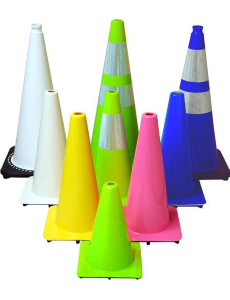 colored cones traffic cones road safety cones traffic safety store