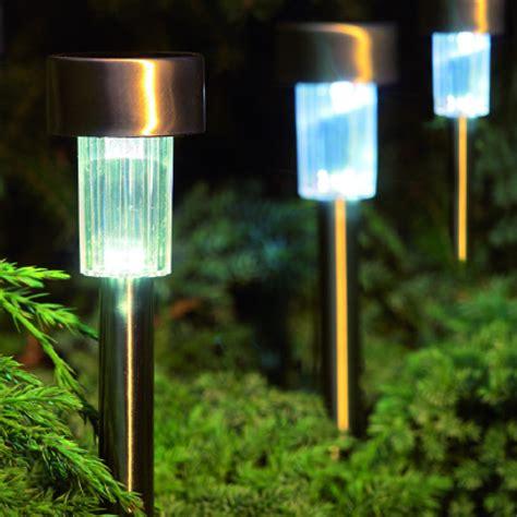 Gardman Solar Marker Led Lights Garden Pathway Ls Gardman Solar Lights