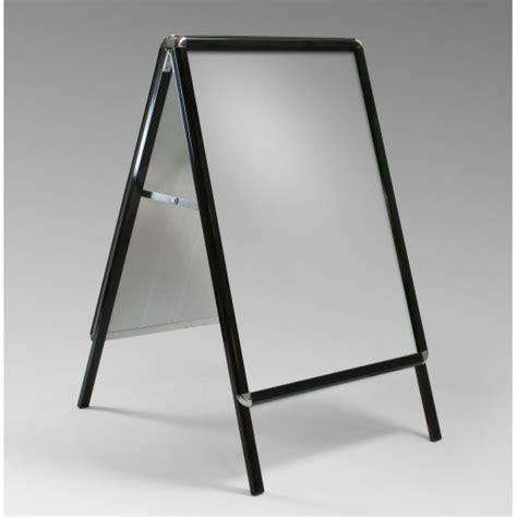 board a a1 black aluminium snap frame a board