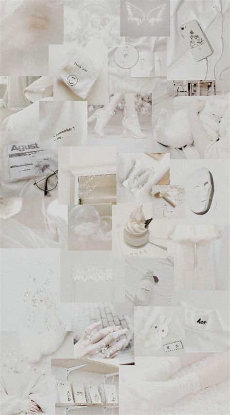 white aesthetic dinding gambar