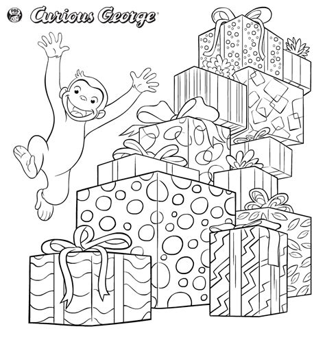 curious george coloring pages games curious george printables pbs kids