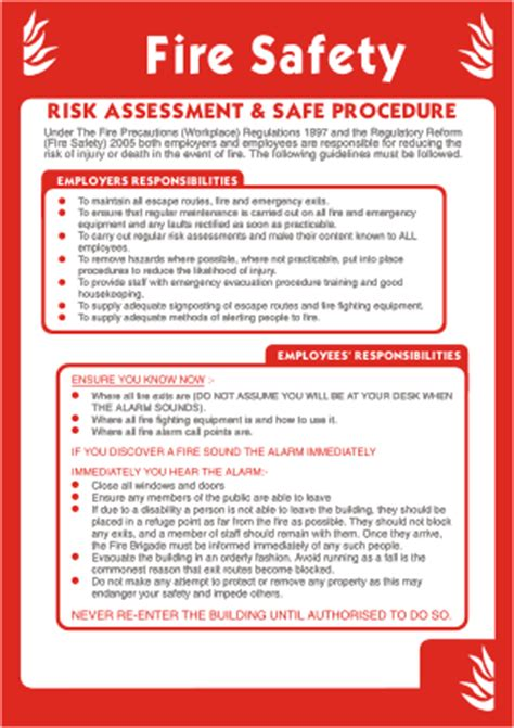 design guidelines on fire safety for buildings in malta clearance signs fire risk assessment poster