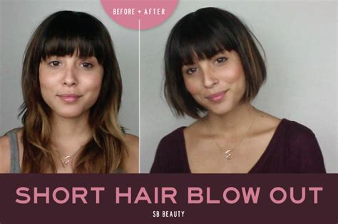 short hair blowouts image gallery sunnie brook