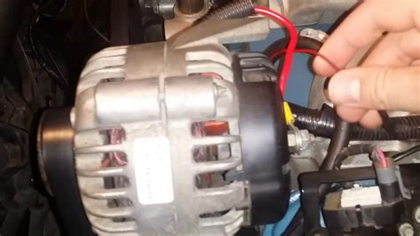 carbed ls swap alternator  power steering