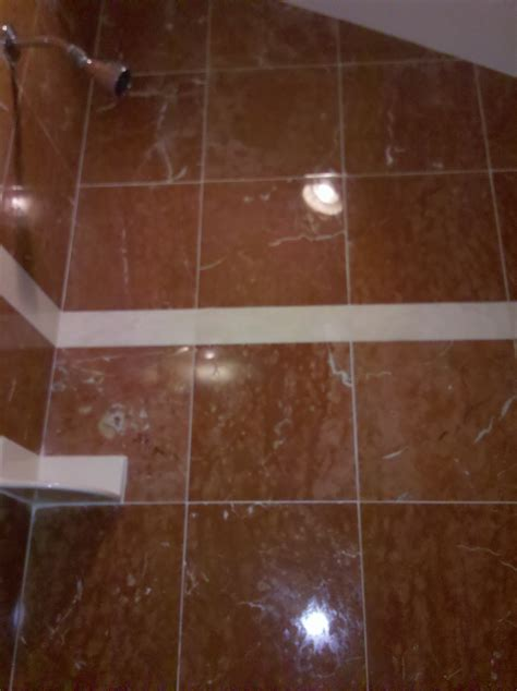Re Grout Shower by Polishing And Regrouting Marble Shower Clean