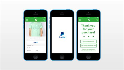 paypal mobile app free paypal mobile shopping cart plugin for shopping apps
