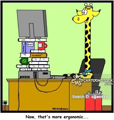 Ergonomy At Work Ergonomic And Comics Pictures From