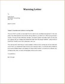 No Call No Show Letter Template Sample Warning Letter Employee Behavior