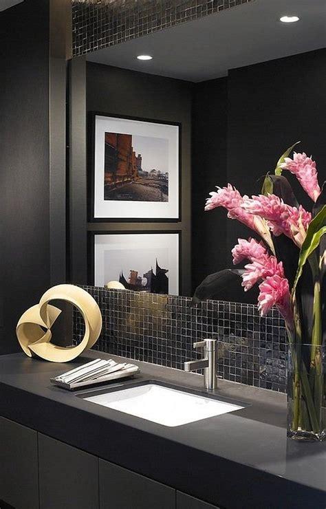 powder room elegant  stylish ideas  impressive