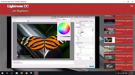 lightroom tutorial app photoshop lightroom cc tutorial for beginners for windows
