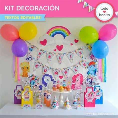 decoracion fiesta pony kit imprimible decoraci 243 n de fiesta todo bonito