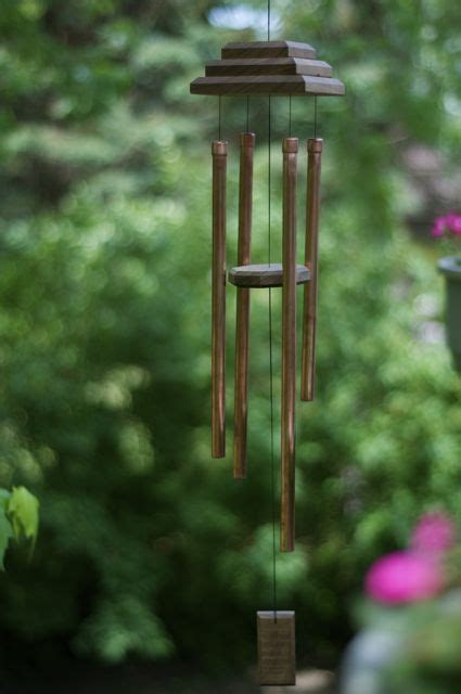 How To Make Handmade Wind Chimes - how to make a winsome wind chime wind chimes