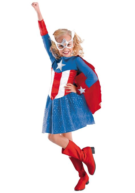 superhero halloween costumes for girls girls american dream costume halloween costume ideas 2016