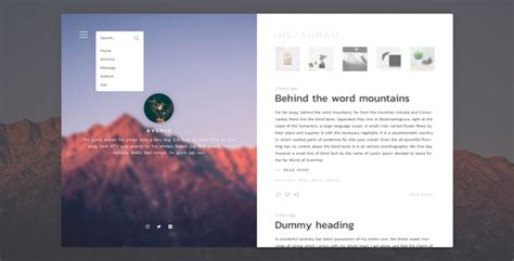 tumblr themes envato avenue stunning blogging tumblr theme by lunar designs