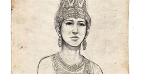 sketch book gambar 5 ratu pemimpin kerajaan di nusantara yang kesohor