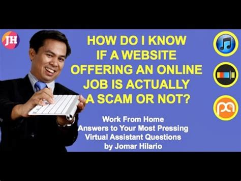 How Do I Work From Home Online - work from home question 55 how do i know if a website offering an online job is a scam