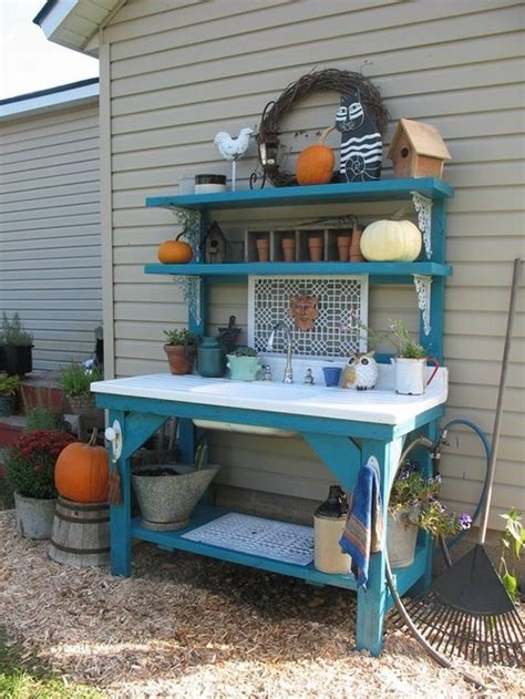 how to make a potting bench how to build a potting bench