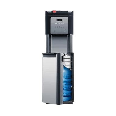 Dispenser Sharp Swd 68eh Bk jual sharp swd 73ehl bk water dispenser harga