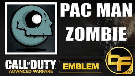 zombie emblem tutorial cod advanced warfare emblem tutorial 125 pac man zombie
