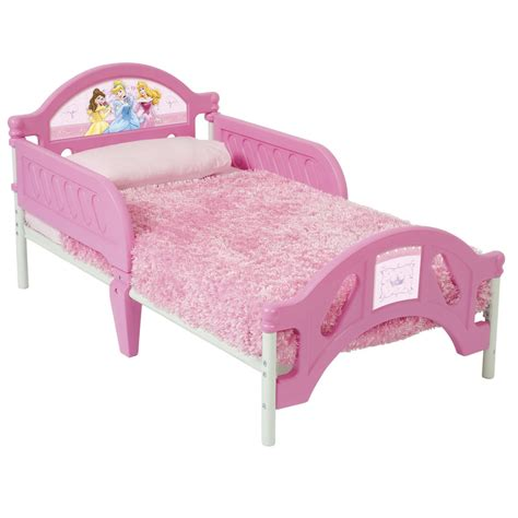 gorgeous pink toddler princess bed with pink cover bed