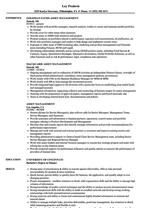 it asset management resume sample elegant resume samples program