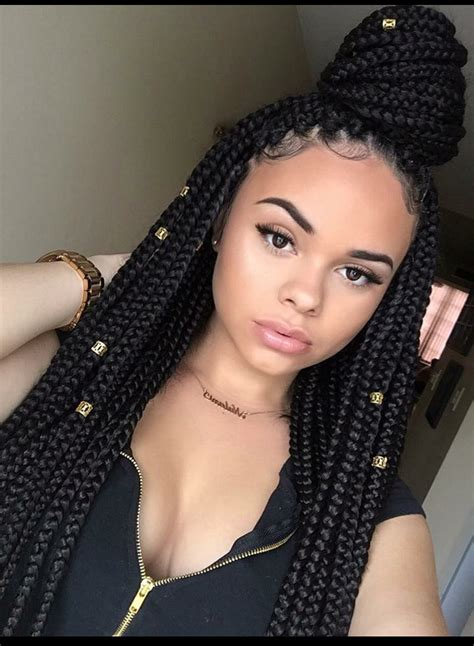 30 weave color box braids pin by janelle bourda on hairstyles pinterest black