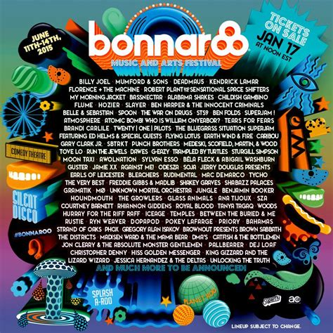 country fan 2017 lineup rumors for bonnaroo 2015 line up autos post